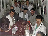 Palestinian medical workers (archive)
