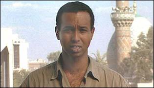 The BBC's Rageh Omaar in Baghdad