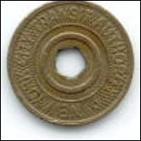 New York subway token