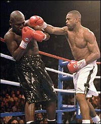 Roy Jr. beat James Toney to win Super Middleweight title in Las Vegas in November 1994