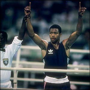 Jones at the 1988 Seoul Olympics