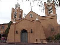 San Felipe de Neri, Old Town, Albuquerque, New Mexico.