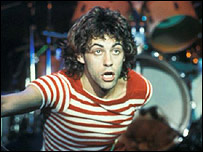 Geldof in the Boomtown Rats