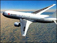 Air China Boeing 767