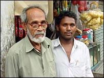 Mohammed Kalil (L) and Sakil Hossain (R)