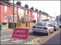 Great Yarmouth crime scene
