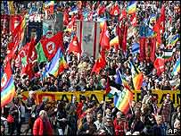 March in Rome
