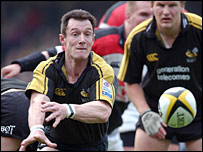 Wasps scrum-half Rob Howley