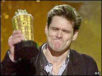 Jim Carrey. Picture: 2001.