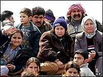 Kurdish asylum seekers in Italy