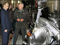 President Putin visits Mozhaisky space engineering military university
