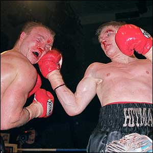 Hatton beats Jon Thaxton on points to win the British title
