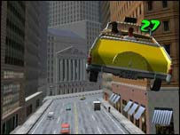 Screengrab from Crazy Taxi, Sega