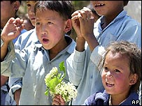 Nepalese school children