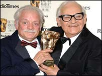 David Jason and Ronnie Barker