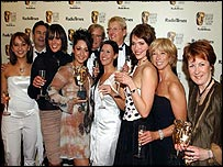 Coronation Street cast and producer