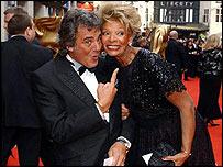 David Dickinson with wife Lorne