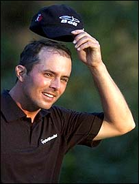 Mike Weir, 2003 Masters Champion