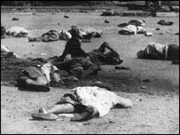 The Sharpville massacre