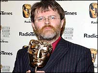 Paul Merton at the Baftas