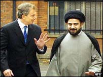 Tony Blair and Sayyed Abdul Majid al-Khoei