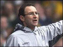 Celtic boss Martin O'Neill