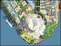 Plans submitted for the Millennium Dome