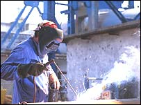 East European metal worker