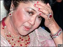 Imelda Marcos, former Philippines First Lady