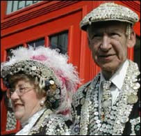 Pearly king and queen, BBC