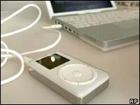 Apple iPod music player, AP
