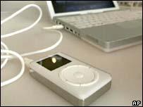 Apple iPod music player, AP
