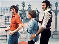 Johnny Ball, Carol Leader and Derek Griffiths