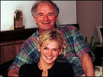 Johnny Ball and daughter Zoe