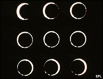 Time-lapse annular eclipse, SPL