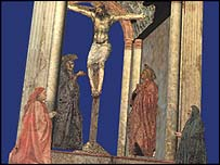 Extract from The Trinity by Masaccio