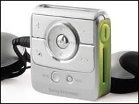 Bluetooth MP3 player, SonyEricsson