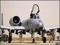 A10 Warthog plane