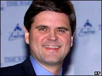 Outgoing AOL Time Warner chairman Steve Case