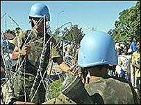 UN soldiers
