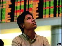 Kuala Lumpur stock exchange board