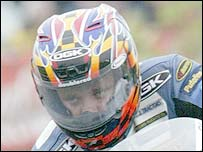 Yorkshire motorcyclist David Jefferies was killed in a crash during practice for the TT races