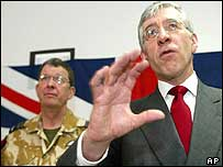 Jack Straw in Qatar