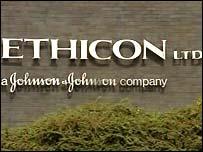 Ethicon sign