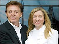 Sir Paul and Heather Mills-McCartney