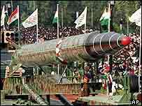 Agni II Missile - India Nuclear Warhead