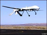 Predator spy plane
