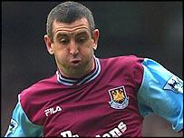 Former Arsenal and West Ham defender Nigel Winterburn