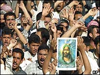 Shia demonstration in Karbala