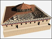 Model of the Odeon of Pericles